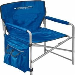 Кресло складное 2 синий КС2 Nika
