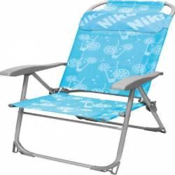 Кресло-шезлонг складное 2 сетка Коктейль К2 Nika
