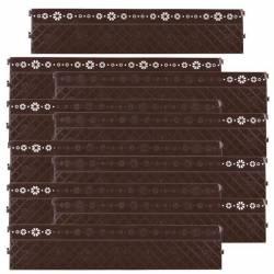 Заборчик декоративный Палисадник (2800х700) М4958 Башпласт