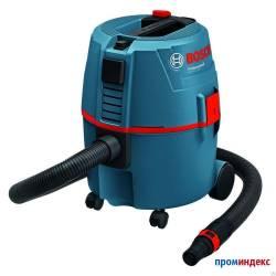 Пылесос GAS 20 L мощность-1200Вт  объем- 20 макс.разр.-215  макс.поток возд.- 62BOSCH