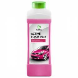 Средство для бесконтактной мойки Active Foam Pink розовая пена 1л GRASS