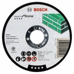 Диск отрезной по камню 115х2,5х22,2мм BOSCH