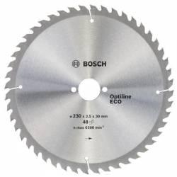 Пильный диск по дереву 230x30x48 Optiline ECO BOSCH