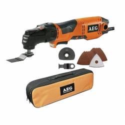 AEG Инструмент многофункциональный аккумуляторный 18В 2х2АчLi-ion 1 кг сум насадка OMNI-MTX бключ