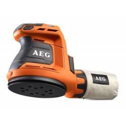AEG Эксцентриковая шлифовальная машина аккумуляторная  18В Li-ion ф125мм 7000-11000обм ампл-2.4мм 1.9кг