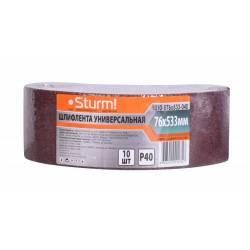 Шлифовальная лента Sturm! 9010-B76x533-040