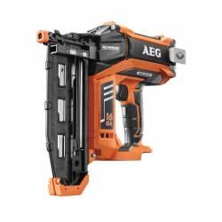 AEG Гвоздезабиватель аккумуляторная без щеточная  18В Li-ion гвоздь19-65мм 120удля мин 5.8кг кор бакк и зу