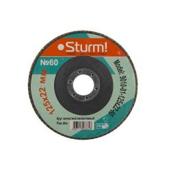 Зачистной круг лепестковый Sturm! 9010-01-125x22-60