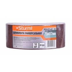 Шлифовальная лента Sturm! 9010-B75x457-100