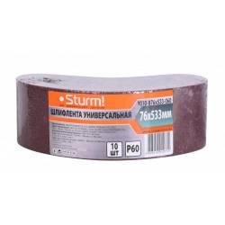 Шлифовальная лента Sturm! 9010-B76x533-060
