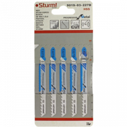 Пилки для лобзика Sturm! 9019-03-227D