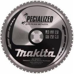 Makita Диск пильный,ф305х25.4х2.1мм, 60зуб для труб, профиля