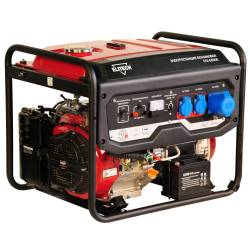 ELITECH Генератор бензиновый(4-х тактный),5.5кВт13л.с.,389см3,тбак-25л,85кг, эл.старт