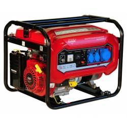 ELITECH Генератор бензиновый(4-х тактный),5.5кВт13лс,389см3,тбак-25л,374гр/кВт*ч,90кг,ручн.старт,счетчик