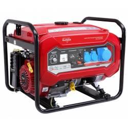 ELITECH Генератор бензиновый(4-х тактный),6.5кВт15лс,420см3,тбак-25л,374гр/кВт*ч,94кг,ручн.старт,счетчик