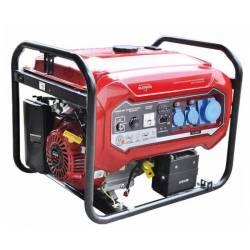 ELITECH Генератор бензиновый(4-х тактный),6.5кВт15лс,420см3,тбак-25л,374гр/кВт*ч,95кг,эл.старт,счет,ATS