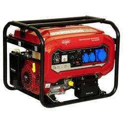 ELITECH Генератор бензиновый(4-х тактный),6.5кВт15лс,420см3,тбак-25л,374гр/кВт*ч,95кг,эл.старт,счетчик