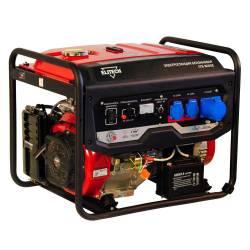 ELITECH Генератор бензиновый(4-х тактный),6.5кВт16л.с.,420см3,тбак-25л,90кг,эл.старт