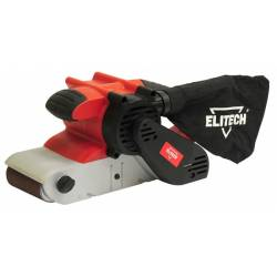 ELITECH Летночная шлифовальная машина,1200Вт,220-400ммин,100х610мм,5.5кг,кор,псборник,компл для стац крепления