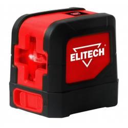 ELITECH Нивелир лазер,2х1.5В(АА),20м,±1,55м,0.25кг,гор/верт луч,кор,чехол