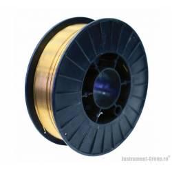 ELITECH Проволока сварочная (стальная омедненная) O0.8мм, масса 5кг.