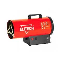 ELITECH Пушка тепловая газовая,10кВт,поток-330м3ч,расход-0.76кгч,5.5кг,пьезоподжиг