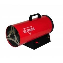ELITECH Пушка тепловая газовая,6-15кВт,поток-330м3ч,расход-0.8-1.2кгч,5.5кг,пьезоподжиг