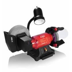 ELITECH Станок заточный,300Вт,2850об/мин,шлиф.круг-150х32х20,20кг,лампа,боковое вращение