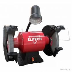 ELITECH Станок заточный,900Вт,2850об/мин,37м/с,шлиф.круг-250х25х20,32,5кг,лампа