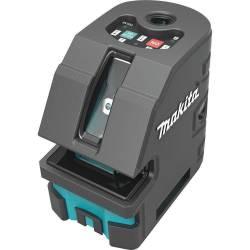 Makita Нивелир лазерный комбинированный, 3х1.5В(АА),15(60м),±0.75ммм,0.47кг,сум,горверт луч+4 точки,свыр-е,настен крепл