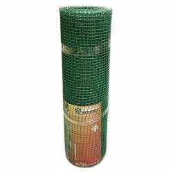 Сетка садовая пластиковая зерно зеленая квадрат 1x20м Гидроагрегат Дельта