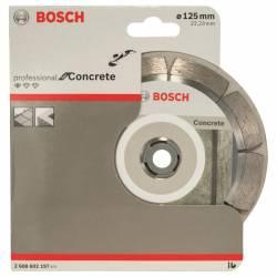 Диск отрезной алмазный по бетону 125х22,23мм Concrete BOSCH