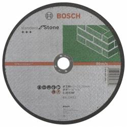 Диск отрезной по камню 230х3,0х22 2мм BOSCH