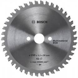 Диск пильный 150 х 20/16х42 Multi ECO  BOSCH (универсальный)