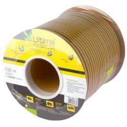 Уплотнитель для окон профиль D 100 м коричневый Ultima