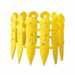 Заборчик декоративный Ромашки 2.4метра Альтернатива