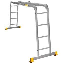Лестница-трансформер (4*4) T444 122*235*458(Алюмет)