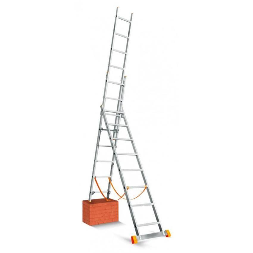Лестницы-стремянки трехсекционные: Купить трехсекционную стремянку